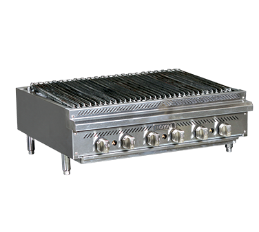 RRB-24 – Royal Gas Countertop Charbroiler