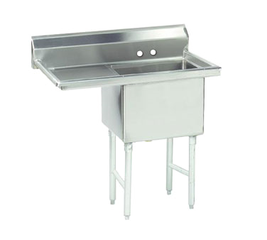 MAJ1-181812LCSY – Majestic Stainless Steel Sink, Left drainboard