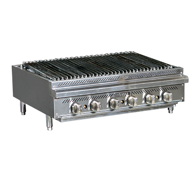 RRB-36 – Royal Gas Countertop Charbroiler