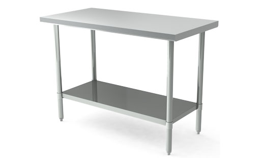 MAJ-2472SS – Majestic Stainless Steel Work Table