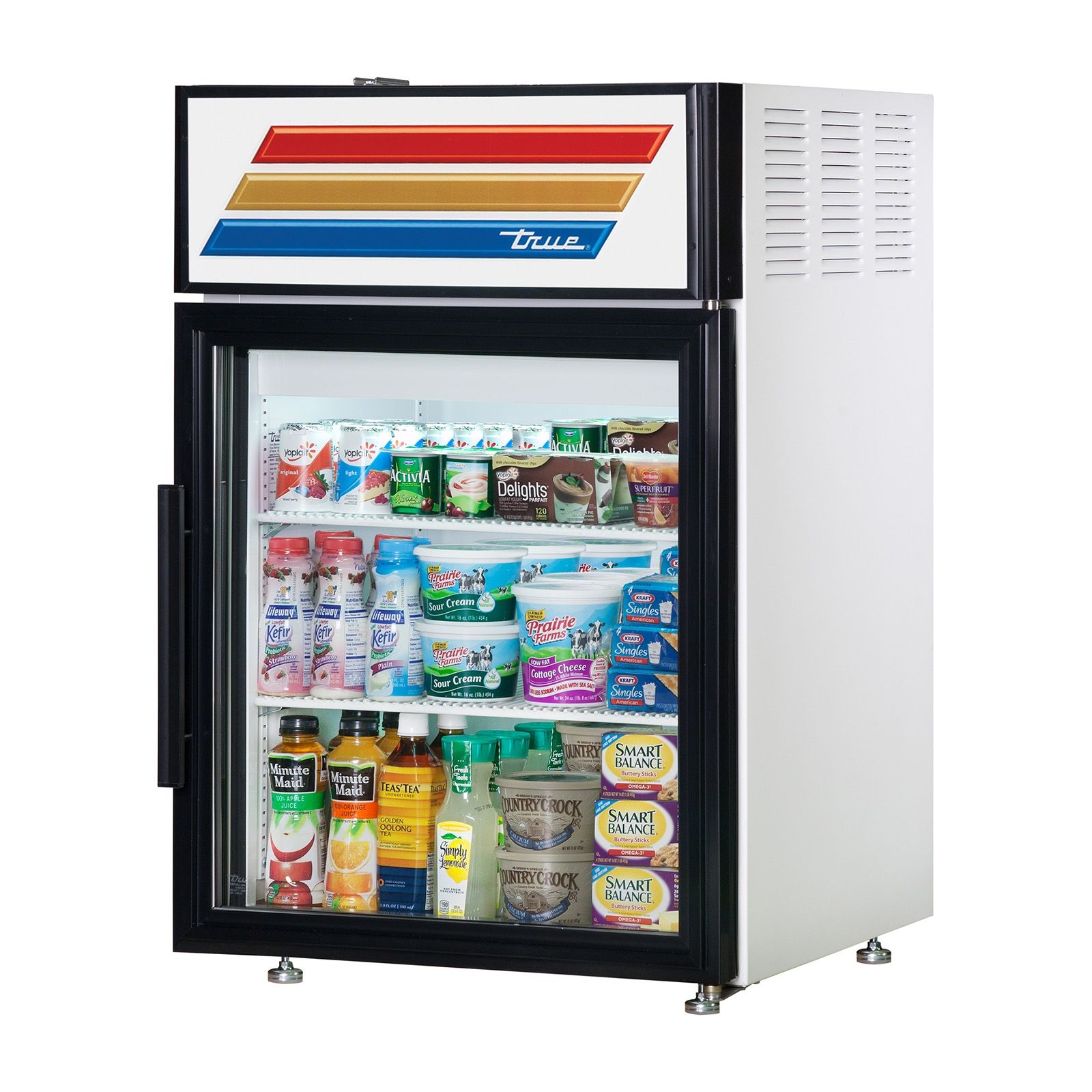 GDM-05-LD – True Display Refrigerator, Countertop
