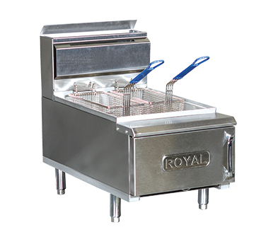 RCF-25 – Royal Gas Countertop Fryer