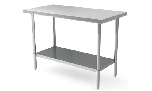 MAJ-3096SS – Majestic Stainless Steel Work Table