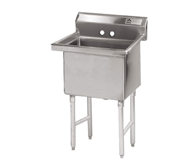 MAJ1-242412NCSY – Majestic Stainless Steel Sink